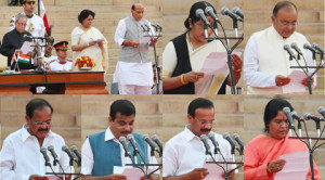 Swearing-in ceremony of NDA government