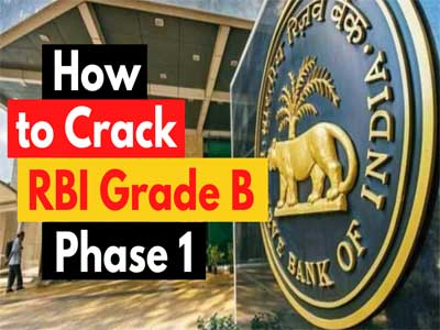 how to crack rbi grade b phase 1