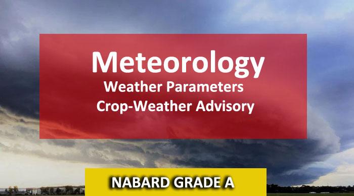 Meteorology NABARD Grade A