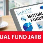 mutual fund mcq jaiib