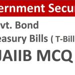 government securities mcq