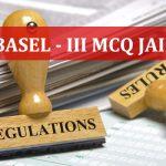 Basel-III MCQ JAIIB