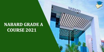 NABARD GRADE A 2021 COURSE