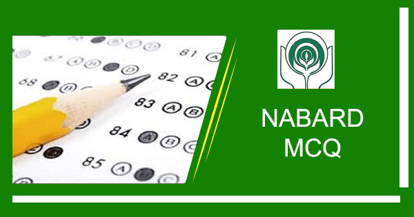 ESI ARD MCQ Part 2 for NABARD