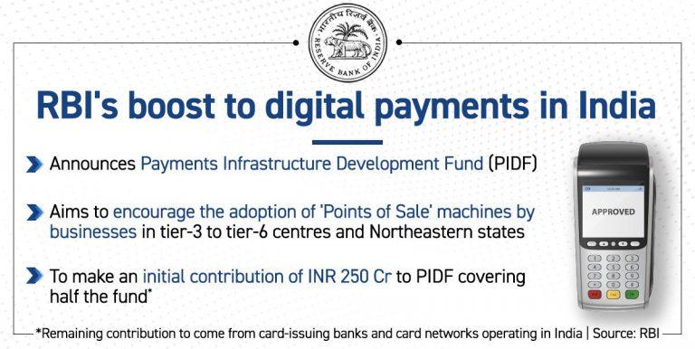 Payment Infrastructure Development Fund